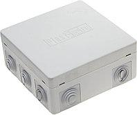 Коробка распределительная,СВЕТОЗАР макс.напряж. 400В IP 54, 9 вводов, 125х125х50мм SV-54959