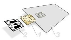 4442IC Bok Electronic смарткарта
