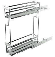 Выдвижная кухонная проволочная корзина (150мм)