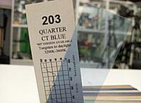 Cotech 203 QUARTER CT BLUE светофильтр для осветительных приборов, метр