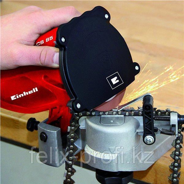 Станок для заточки цепей Einhell  GC-CS 85   220В, 85Вт, 4800об./мин, диам.диска 108х23х3,2мм, вес 1.9кг