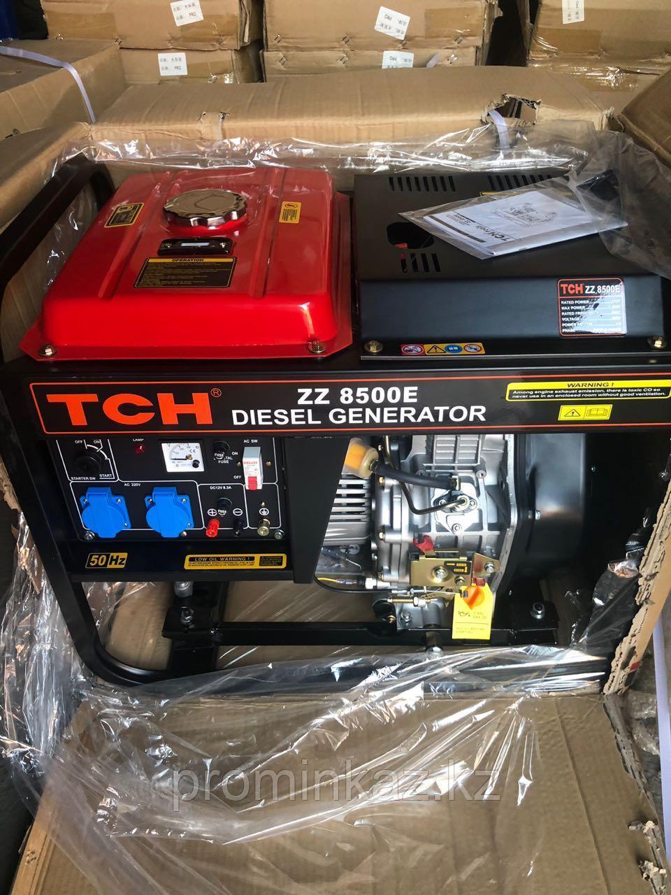 Дизельный генератор TCH 12000E -10кВт, 220В