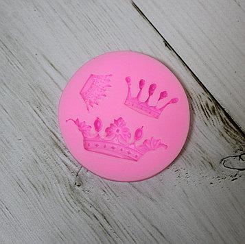Силиконовая форма молд для мастики (короны)