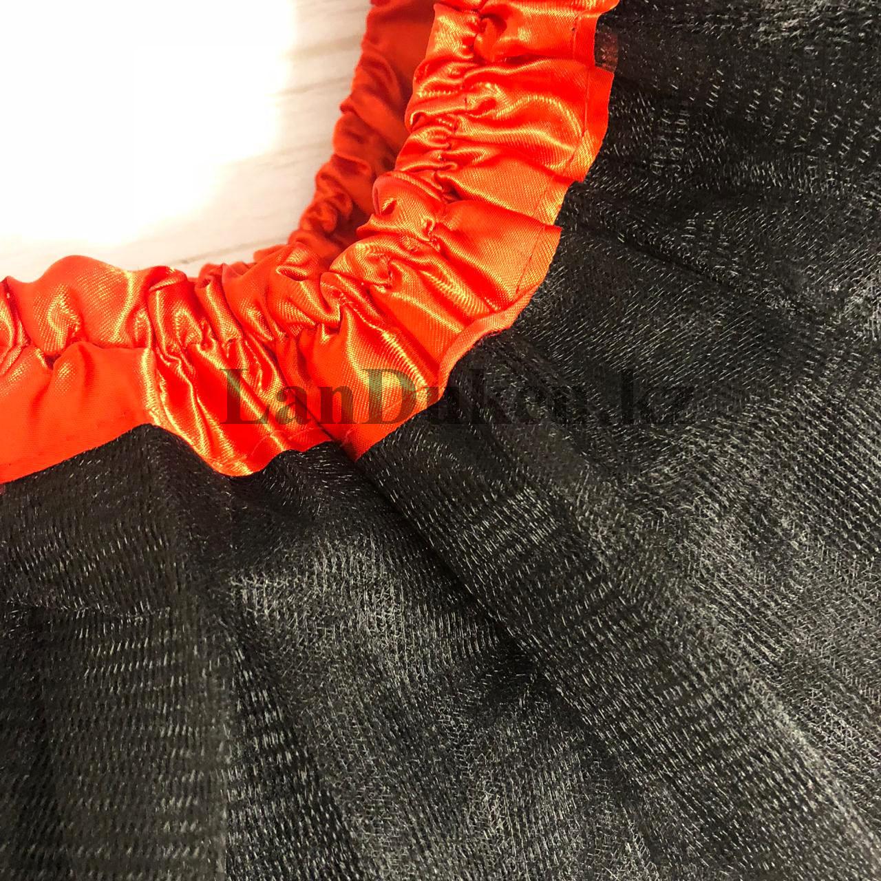 Юбка пачка детская для танцев 29 см Черная - фото 2