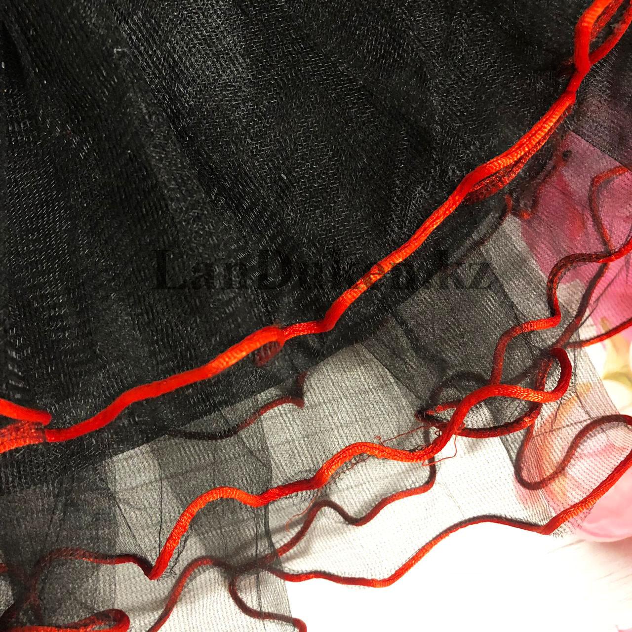 Юбка пачка детская для танцев 29 см Черная - фото 3