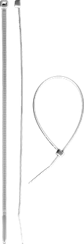 (309010-25-150) Хомуты нейлоновые белые, 2.5 x 150 мм, 100 шт,ЗУБР
