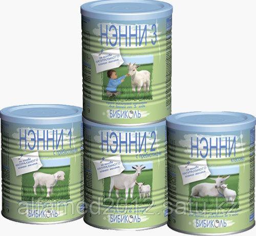 Нэнни 1 Адаптированная сухая молочная смесь для детей от 0 до 6 месяцев на основе натуральнс пребиотиком 800 г