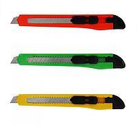 Нож канцелярский маленький 10 мм.