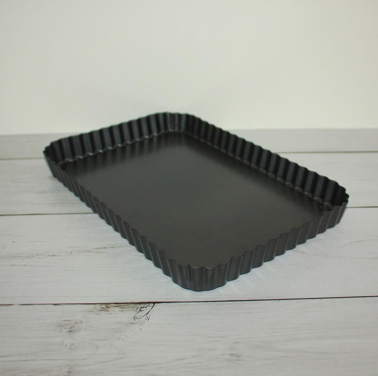 Тарталетка со съемным дном (прямоугольная)
