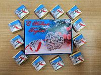 """Шокобокс """"С новым годом!"""" на 12 конфет птичье молоко, фото 1"""
