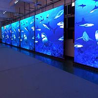 Интерьерные светодиодные экраны