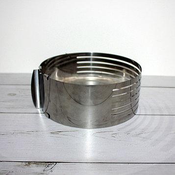 Форма для выпечки и нарезки бисквита с регулируемым диаметром (150-200 мм)