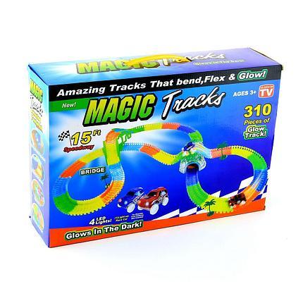 """Детский гибкий гоночный трек """"Magic Tracks-310"""", фото 2"""