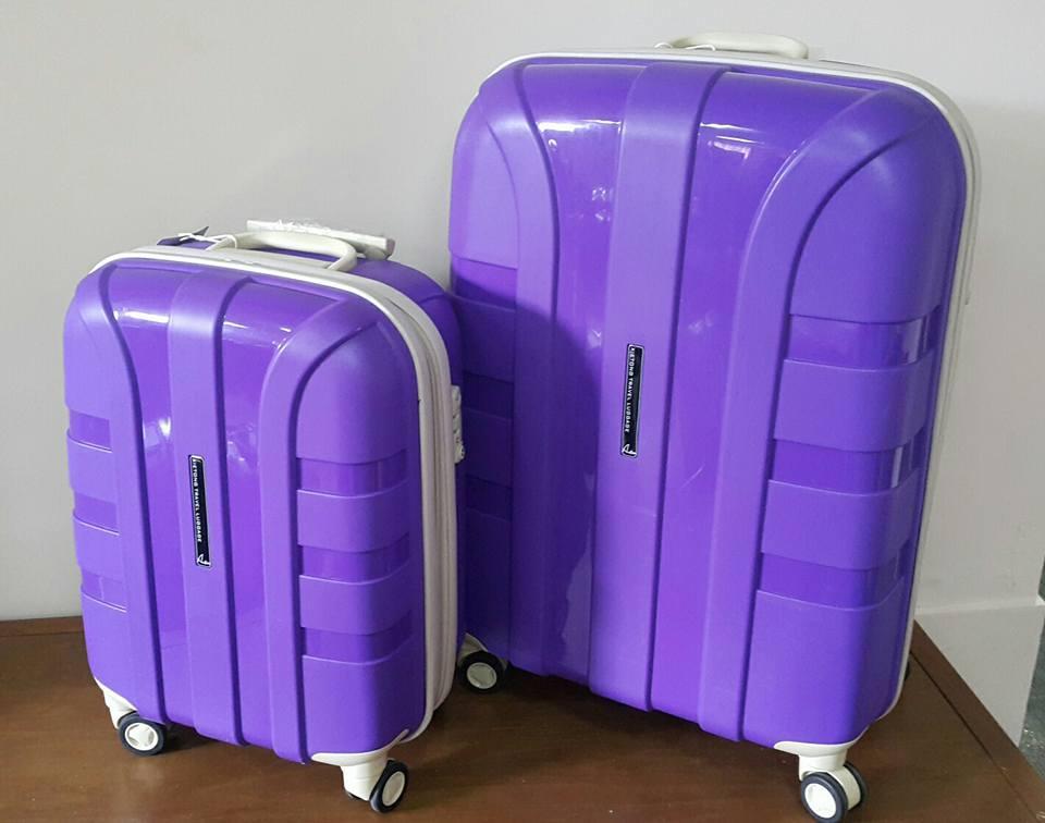 """Дорожный чемодан """" Aotian """" среднего размера фиолетовый"""