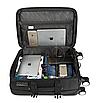 Малый чемодан черный прочный Wenger Gonzi (размер S), фото 3