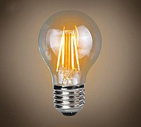 Лампа светодиодная нитевидная прозрачная шар G45 7 Вт 4000 К Е27 Фарлайт
