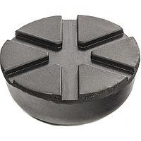 Резиновая опора для подкатного домкрата универсальная, D 89 мм, D 60 мм, H 35 мм Matrix