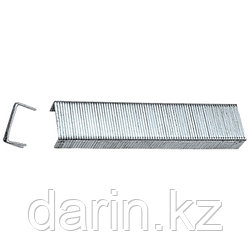 Скобы, 6 мм, для мебельного степлера, закаленные, тип 53, 1000 шт Matrix Master