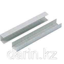Скобы, 14 мм, для мебельного степлера, усиленные, тип 53, 1000 шт Gross