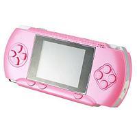 Игровая приставка GAME BOY - PVP POCKET - 2 Gb с играми + картридж с играми + кабель к TV, (розовая)