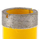 Сверло алмазное по керамограниту, 27 мм, мокрая резка, М14 Denzel, фото 3