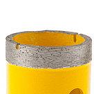 Сверло алмазное по керамограниту, 40 мм, мокрая резка, М14 Denzel, фото 3