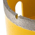 Сверло алмазное по керамограниту, 82 мм, мокрая резка, М14 Denzel, фото 3
