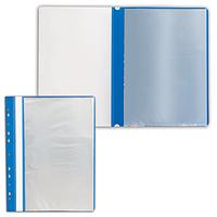Папка  файловая с прозрачной обложкой прозрачной А4 40 листов
