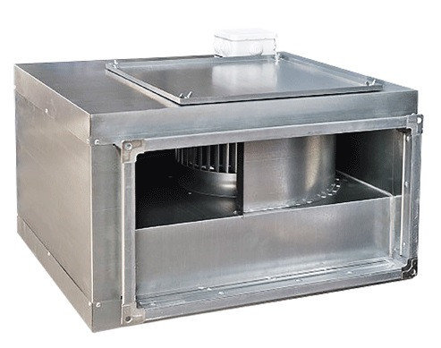 Шумоизолированный вентилятор для прямоугольных каналов ВКП-Ш 50-25-6D (380В), фото 2