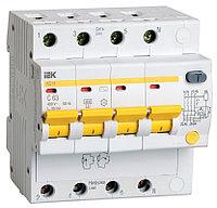 Выключатель автоматический дифференциального тока  АД14 16А 30мА 4п