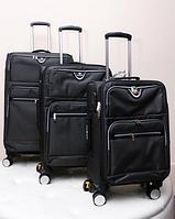Черный маленький чемоданчик на колесах Wenger Swissgear (размер S)