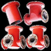 Подставка под пожарный гидрант стальн. непроход.фланц.(ППОФ) Д- 150 мм, фото 1