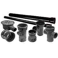 Труба чугунная напорная из ВЧШГ д.100мм, трубы канализационные, канализационная труба, фото 1
