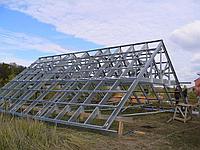 Изготовление металлических крыш