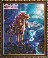 """Картина стразами """"Созвездие льва"""", 40*50см"""