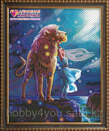 """Картина стразами """"Созвездие льва"""", 40*50см, фото 2"""