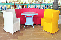 Комплекты мебели из искусственного ротанга.