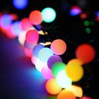 Новогодняя гирлянда с насадками (шарики ) ., фото 1