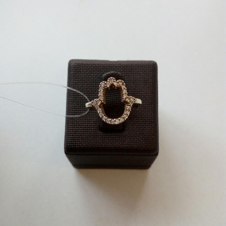 Кольцо Хамса на среднюю фалангу