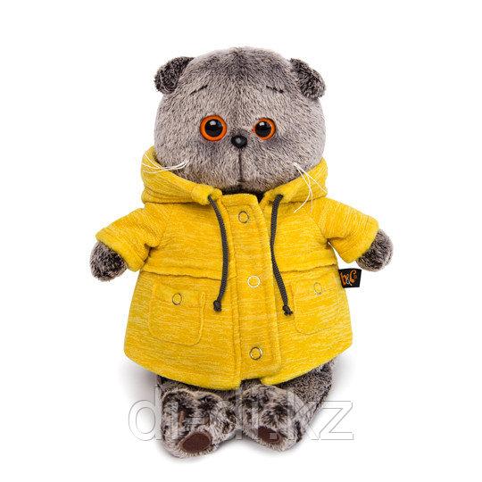 Басик в желтой курточке