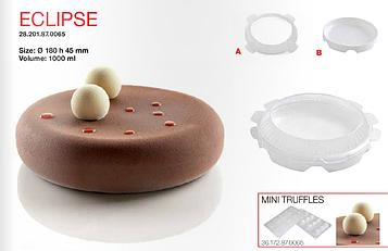 Silikomart Eclipse Tortaflex 3D