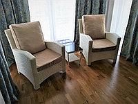 Комплект мебели: кресло - 2 шт. столик - 1 шт. ( цвет любой на выбор)