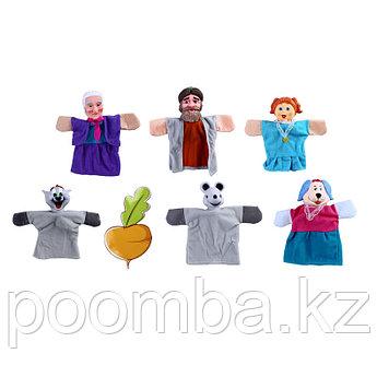 "Кукольный театр ""Репка"", 6 кукол"
