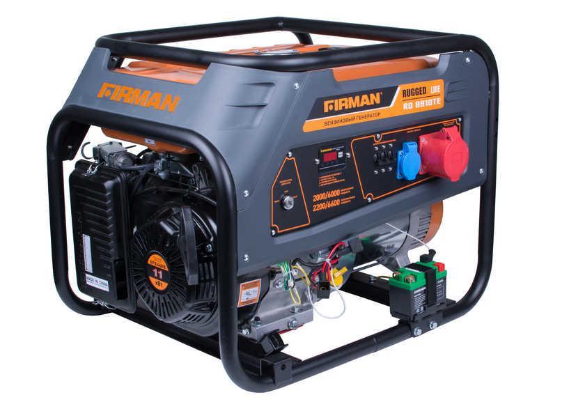 Генератор бензиновый FIRMAN RD9910TЕ с транспортн.комплектом