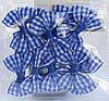 Бантики для декорирования, 10 шт., голубые