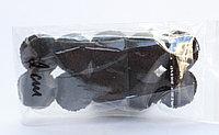Помпоны декоративные из акриловой пряжи, 2 см, черные, фото 1