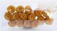 Помпоны декоративные из акриловой пряжи, 1.5 см, коричневые