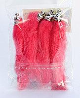 Хвостики для декора, красные, 10 см, фото 1