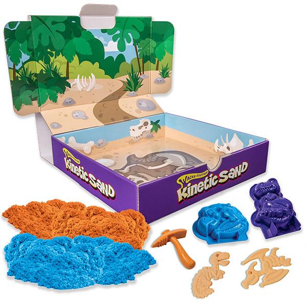 Песок для лепки Kinetic Sand. Игровой набор c формочками, 340 грамм