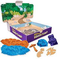 Песок для лепки Kinetic Sand. Игровой набор c формочками, 340 грамм, фото 1